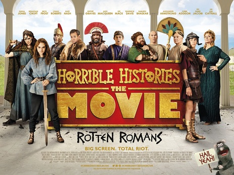 Horrible Histories Rotten romans poster