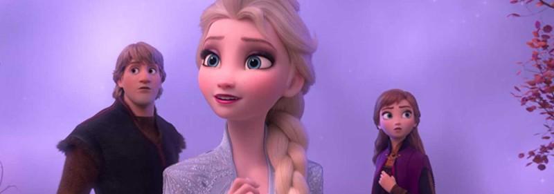 Frozen II Kristroff Elsa Anna