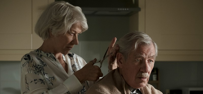 Helen Mirren and Ian McKellan in the film The Good Liar (2019)