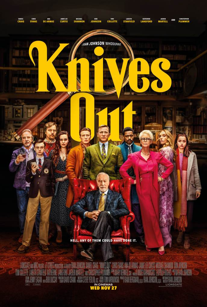 image poster knives out