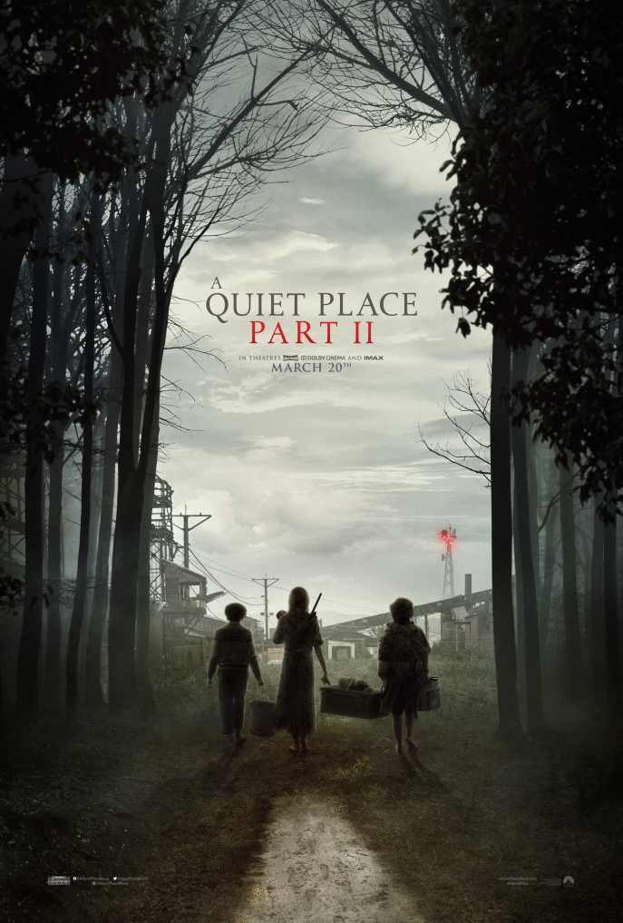 Film poster A Quiet Place II (2020)