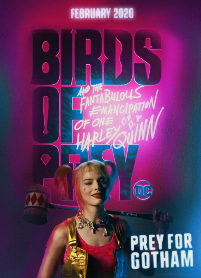 Film poster Birds of Prey and the Fantabulous Emancipation of One Harley Quinn (2019)