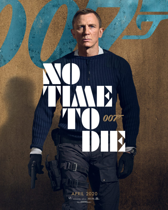 Film poster No Time To Die (2020)