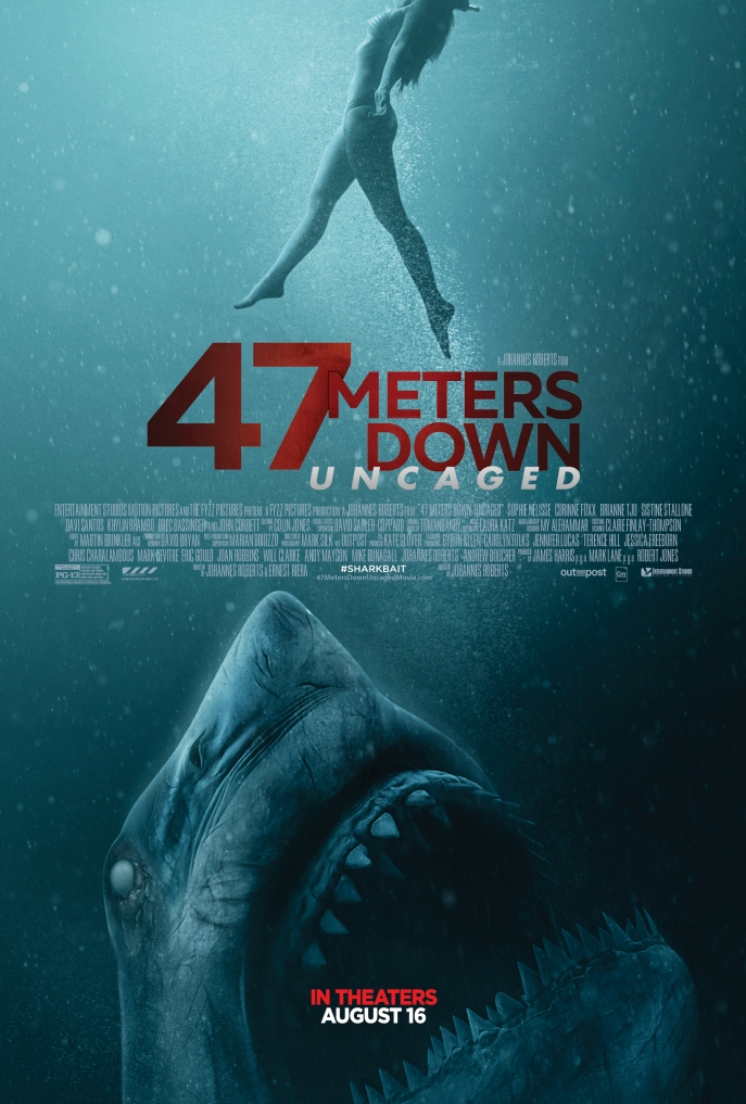 Film poster for 47 Meters Uncaged