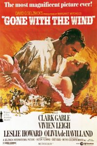 Film poster for Gone with the Wind (1939)