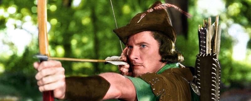 Errol Flynn as Robin Hood 1938
