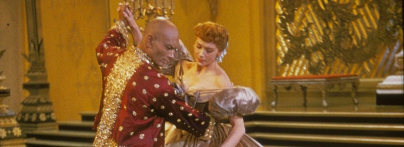 Yul Brynner Deborah Kerr The King and I dancing