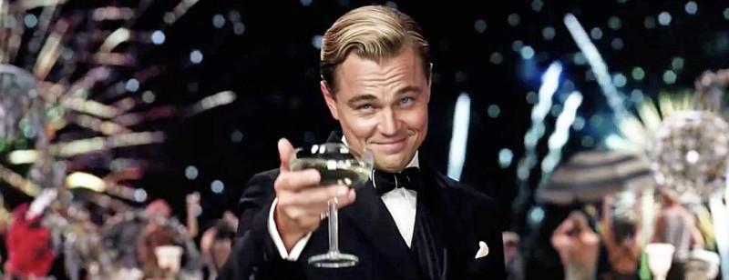 Leonardo DiCaprio in The Great Gatsby (2013)