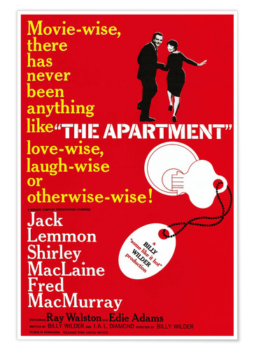 The Apartment film poster