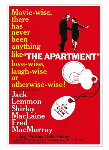 The Apartment film poster