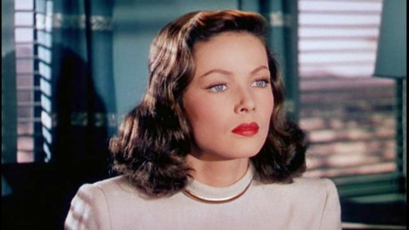 Gene Tierney staring in Leave Her to Heaven (1945)