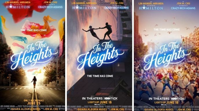 in the Heights (2021) movie posters